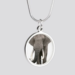 Realistic elephant design Necklaces