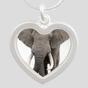 Realistic elephant design Necklaces