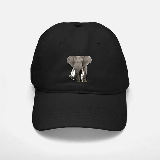 Realistic elephant design Baseball Hat