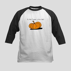 Haitian Pumpkin Kids Baseball Jersey