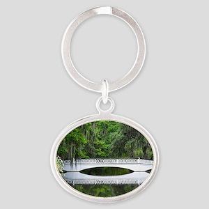 Oval Keychain