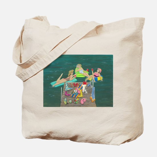 Cute Dock Tote Bag