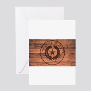 Texas State Seal Brand Greeting Cards