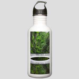 Long White Bridge Stainless Water Bottle 1.0L