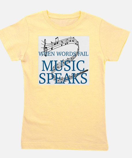 Cool Music Girl's Tee