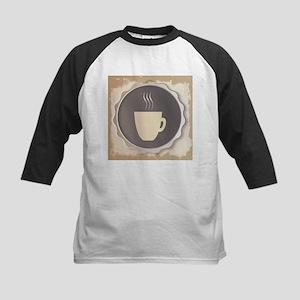 Coffee Background Baseball Jersey