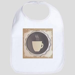 Coffee Background Bib
