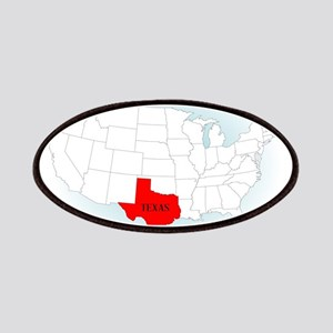 State Highlited Texas Patch