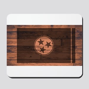 Tennessee Flag Brand Mousepad