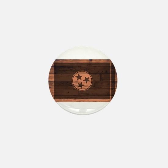 Tennessee Flag Brand Mini Button