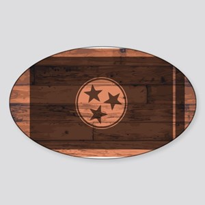 Tennessee Flag Brand Sticker