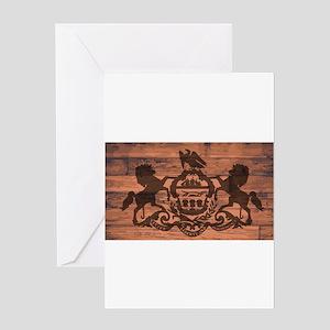 Pennsylvania Flag Brand Greeting Cards