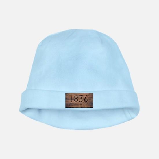 1836 The Alamo Date Brand baby hat