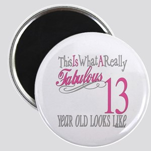 13th Birthday Gifts Magnet