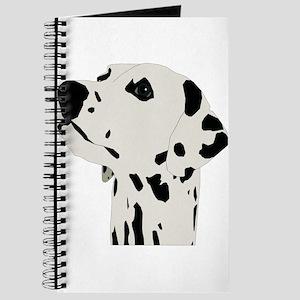Pes Dalmatian art Journal