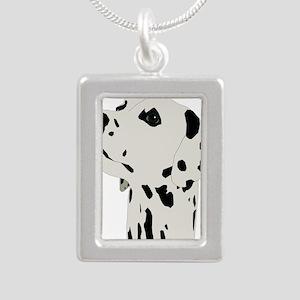 Pes Dalmatian art Necklaces