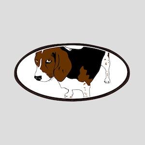 Copper beagle art Patch