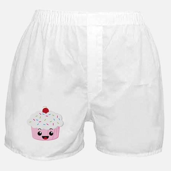 Kawaii Cupcake Boxer Shorts