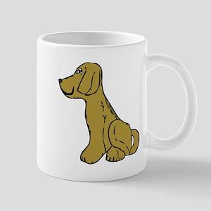Dog side view Mugs