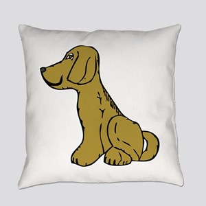 Dog side view Everyday Pillow