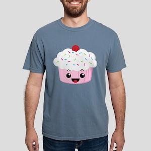 Kawaii Cupcake White T-Shirt