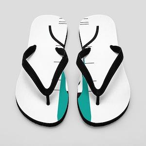 space ship Flip Flops
