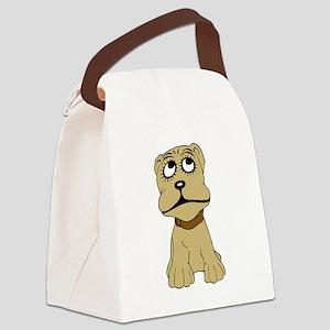 Cartoon dog Canvas Lunch Bag