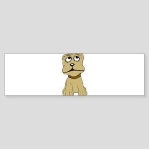 Cartoon dog Bumper Sticker