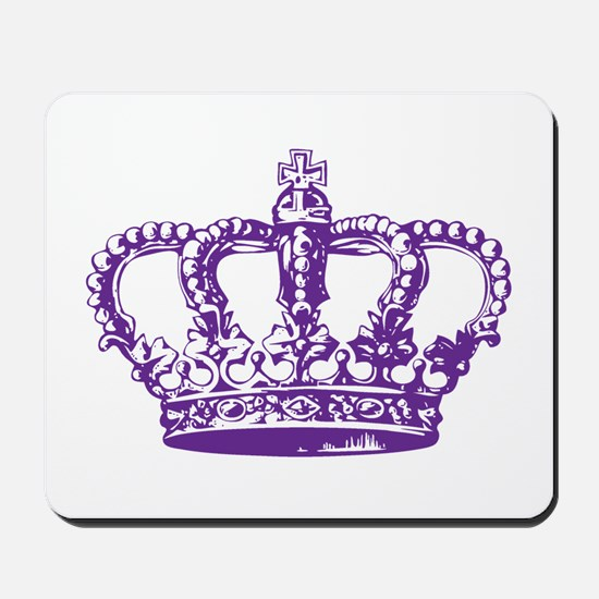 Purple Crown Mousepad