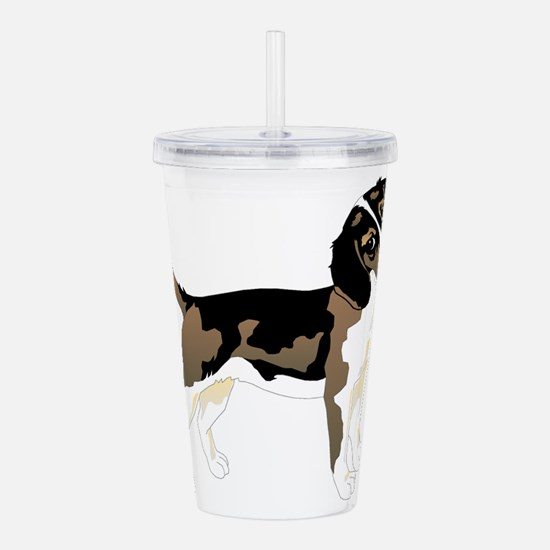 Brown beagle Acrylic Double-wall Tumbler