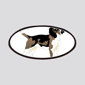 Brown beagle Patch