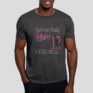 12th Birthday Gifts Dark T-Shirt