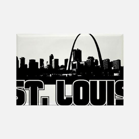 St. Louis Skyline Magnets