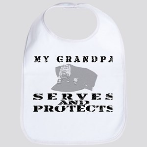 Serves & Protects Hat - Grndpa Bib