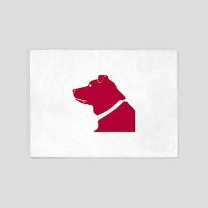 Labrador retriever dog 5'x7'Area Rug