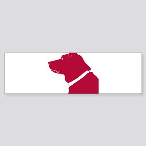 Labrador retriever dog Bumper Sticker