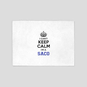 I can't keep calm Im SACO 5'x7'Area Rug