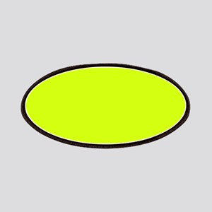 Neon Yellow Solid Color Patch