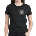 Vaneschi Women's Dark T-Shirt