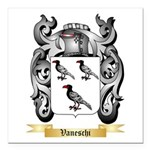 Vaneschi Square Car Magnet 3