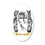 Vaneschi 20x12 Oval Wall Decal