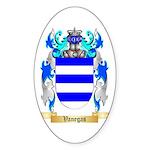 Vanegas Sticker (Oval 10 pk)
