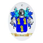 Vane Oval Ornament