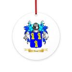 Vane Round Ornament