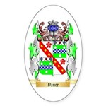 Vance Sticker (Oval 50 pk)