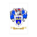 Vanbrugh Sticker (Rectangle 50 pk)