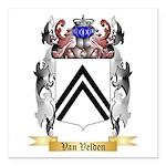 Van Velden Square Car Magnet 3