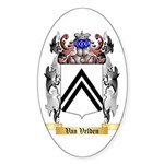 Van Velden Sticker (Oval)