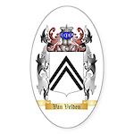 Van Velden Sticker (Oval 10 pk)