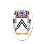 Van Velden 20x12 Oval Wall Decal